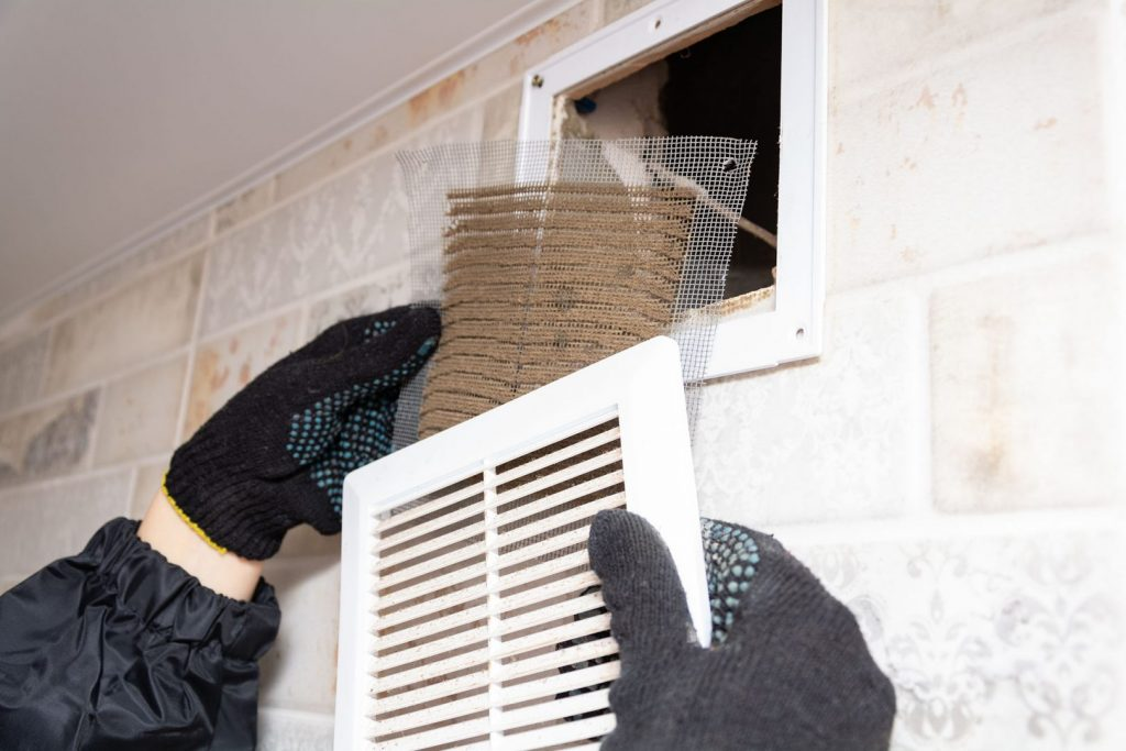 Cleaning a bathroom exhaust fan is a necessity.