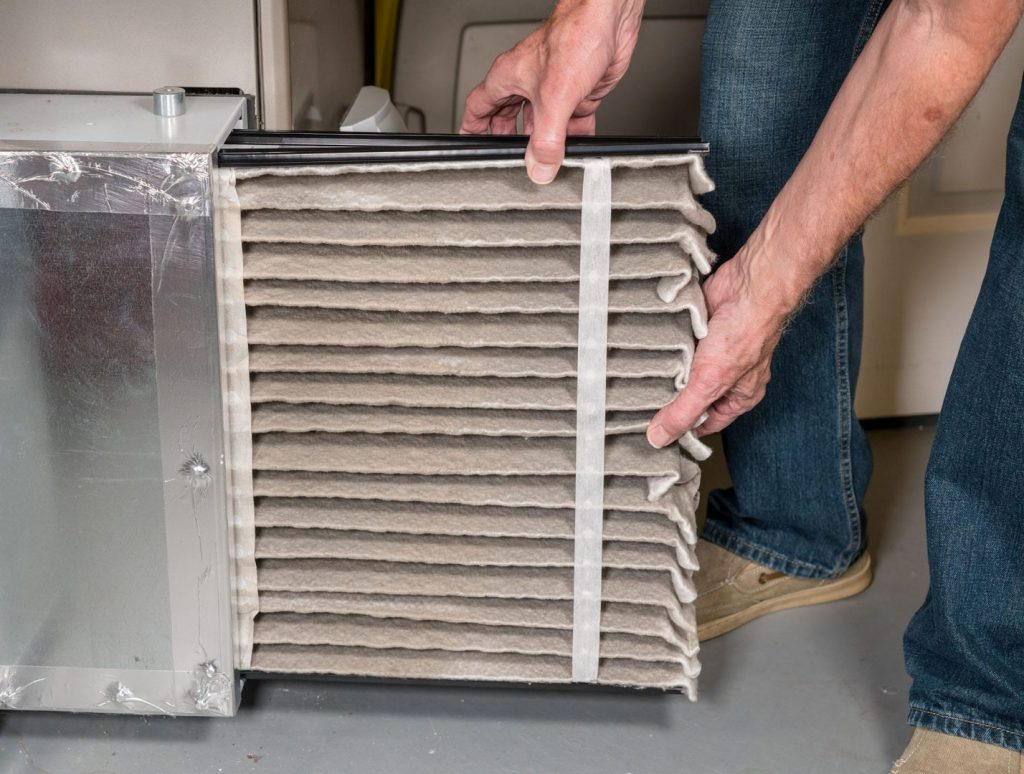 Air filters prevent harmful dirt and dust from entering your breathable house air circulation