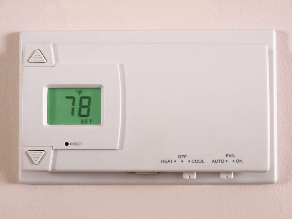 78 Degrees is the recommended setting for your ideal summer thermostat setting