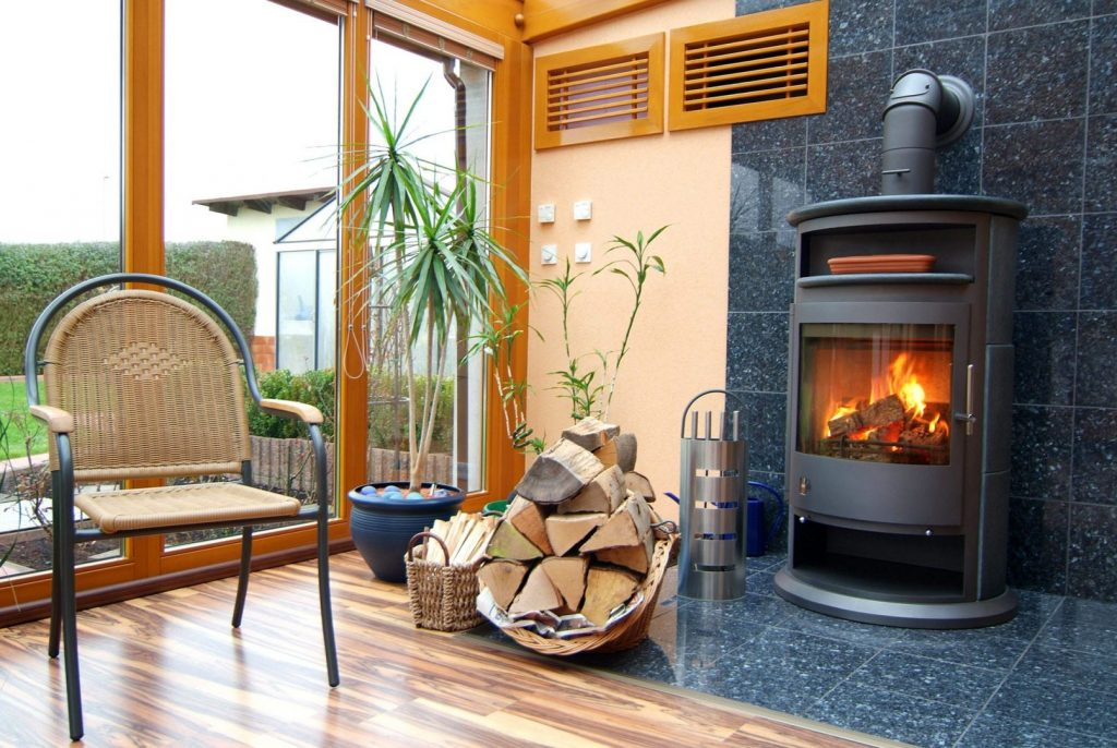 A wood burning fireplace is just one furnace alternative