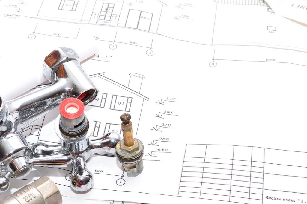 Plumbing schematics show various implementations for a plumbing vent.