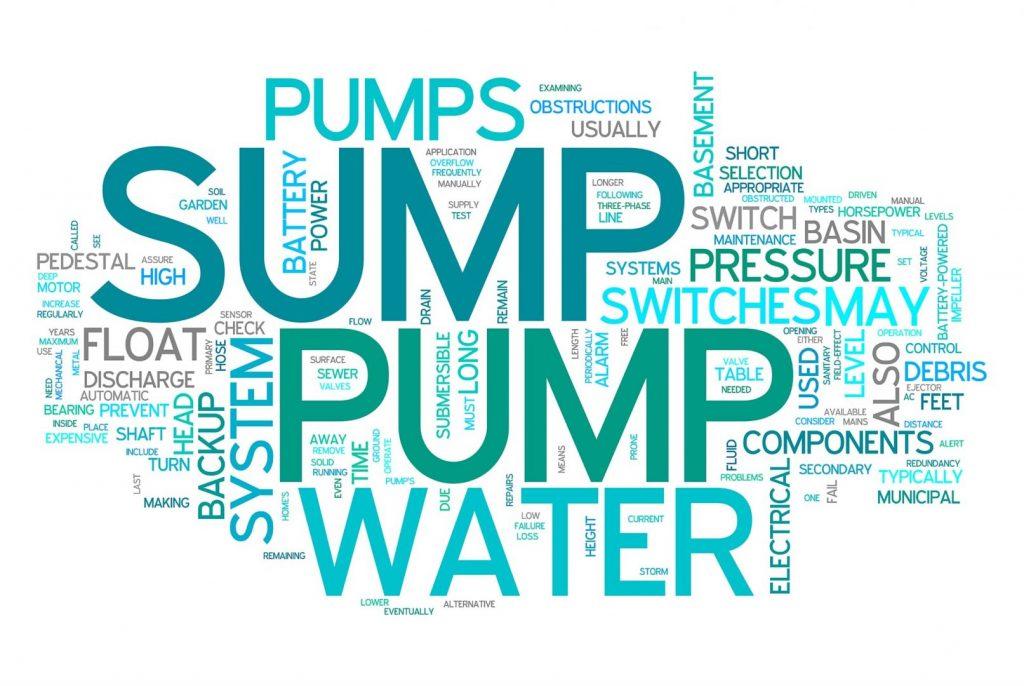A frozen sump pump could mean danger
